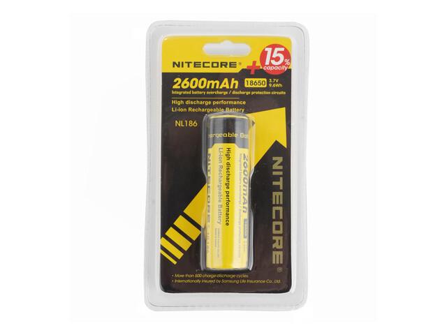 NITECORE 18650 - Piles - Li-Ion jaune